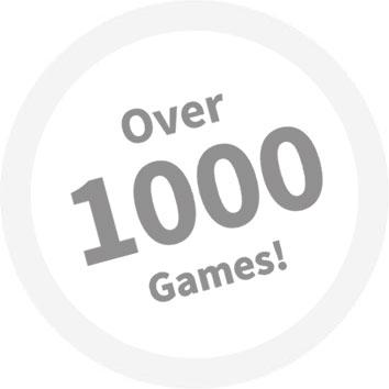 Över 1000 spel hos Dunder