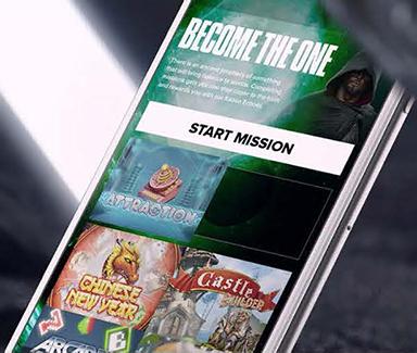 Kaboo finns i mobilen