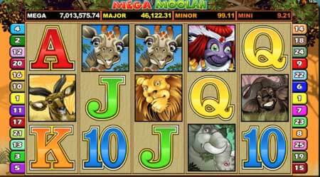 Great jackpot on Mega Moolah