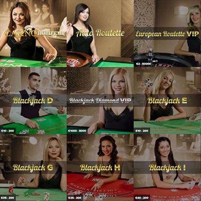 Thrills Live Casino
