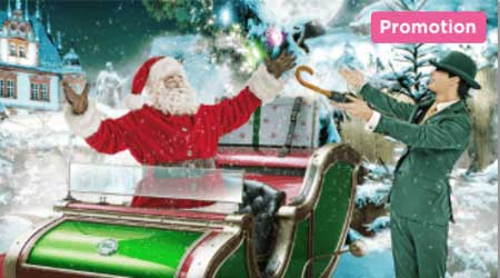 Christmas Calendar at Mr Green