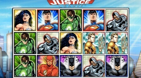 Justice League slot at SuperLenny