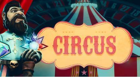 Circus with free spins at Maria Casino!