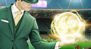 Compete and win the golden ball race at Mr Green Casino!