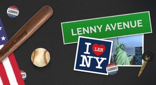 Win a trip to New York with SuperLenny!