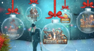 Christmas promotion at MrGreen Casino!