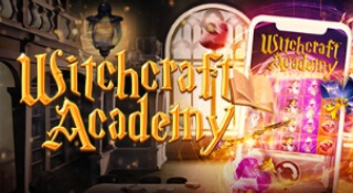 The Witchcraft Academy at LeoVegas Casino!