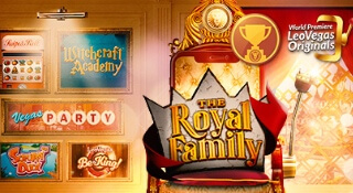 Join the celebration of the new LeoVegas Original game Royal Family!
